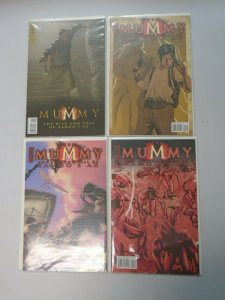 The Mummy Rise and Fall of Xango's Ax set #1-4 8.0 VF (2008 IDW)