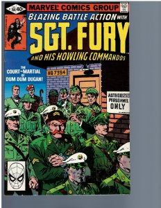 Sgt. Fury and His Howling Commandos #156 (Marvel, 1980)