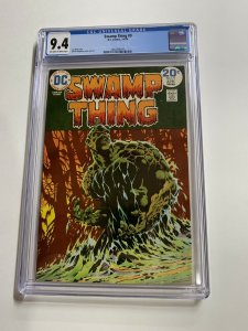 Swamp Thing 9 Cgc 9.4 Ow/w Pages Dc Bronze Age 2042366010