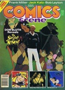 ORIGINAL Vintage 1982 Comics Scene Magazine #3 Don Bluth Secret of NIMH