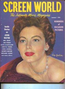 Screen World-Ava Gardner-Hopalong Cassidy-John Wayne-Summer-1950