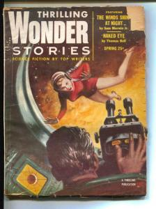 Thrilling Wonder Stories-Pulp-Spring/1954-Thomas Bell-Roger Dee