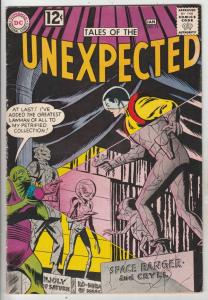 Tales of the Unexpected #74 (Jan-63) FN/VF Mid-High-Grade Space Ranger, Cyrl