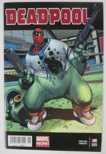 DEADPOOL #5 (Marvel Now Mexico, 2015) La Mole  Variant VF-NM/+ Spanish Language