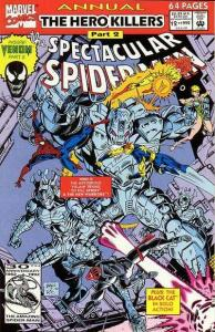 Spectacular Spider-Man (1976 series) Annual #12, NM- (Stock photo)