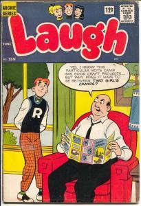 Laugh #159 1964-Archie-Betty-Veronica-Josie-Don deCarlo-VG
