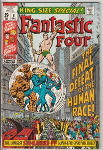 Fantastic Four King-Size Special #8 (Dec-70) VF/NM High-Grade Fantastic Four,...