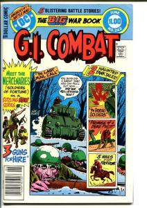 G.I. COMBAT #242-DC WAR-WWII ACTION VF/NM