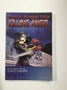 Battle Angel Alita Killing Angel Tpb Softcover Sc Near Mint Nm Viz Graphic Novel