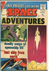 Space Adventures #32 1959-Charlton-Steve Ditko-pre Silver Surfer character-VF-