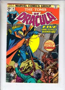 Tomb of Dracula #28 (Jan-75) VF/NM High-Grade Dracula