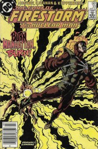 Fury of Firestorm, The (Canadian Edition) #33 FN; DC | save on shipping - detail