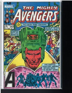 Avengers #243 (Marvel, 1984) VF/NM