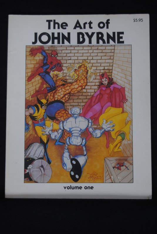 The Art of John Byrne, First Print