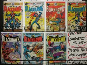 BLACKHAWK 244-250  Complete 1976-1977 Revival!