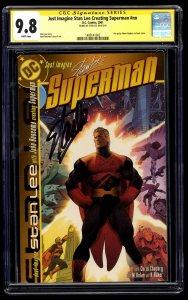 Just Imagine Stan Lee Creating Superman nn CGC NM/M 9.8 Stan Lee Signed SS
