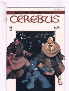 Lot Of 4 Cerebus Aardvark Vanaheim Comic Books # 27 28 29 30 Dave Sim Art BN8