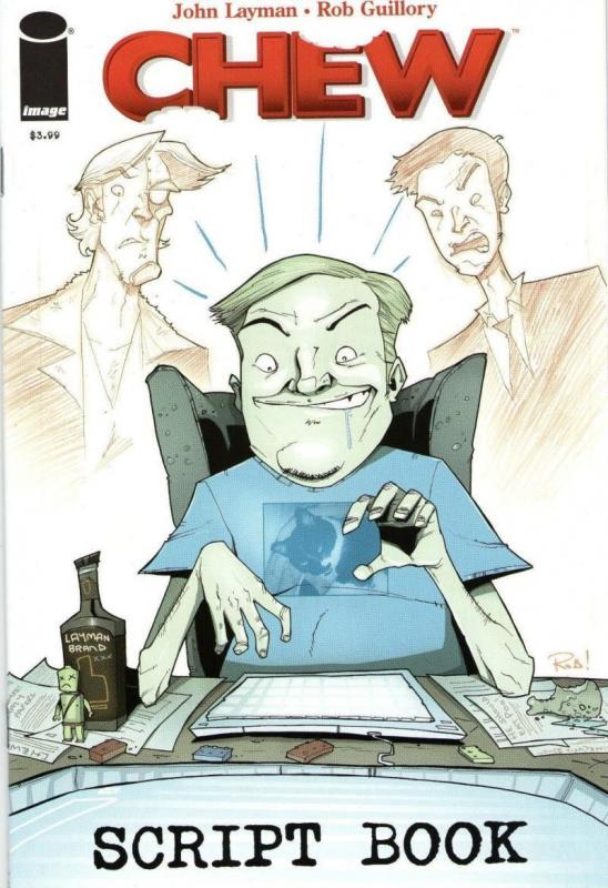 CHEW SCRIPT BOOK #1, 1st Print, NM, Rob Guillory, John Layman, more in our store