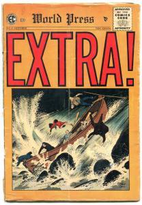 Extra! #4 1955- EC Comics- Johnny Craig- John Severin FAIR