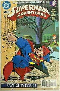 SUPERMAN ADVENTURES#4 VF/NM 1997 DC COMICS