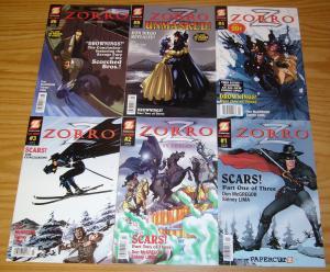 Zorro #1-6 VF/NM complete series - papercutz - don mcgregor set lot 2 3 4 5
