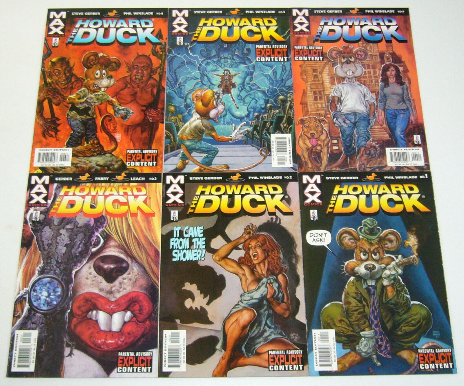 Marvel VF//NM Comics Book Howard the Duck #3 Vol 6