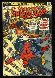 Amazing Spider-Man #123 FN+ 6.5 Early Luke Cage!