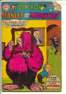Fox And The Crow #108 1968-DC--Stanley & His Monster-George Washington cover-...