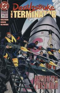 Deathstroke the Terminator #19 FN; DC | save on shipping - details inside
