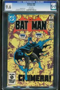 BATMAN #364-CGC 9.6 WP-chimera-HIGH GRADE-NM - 0206992034