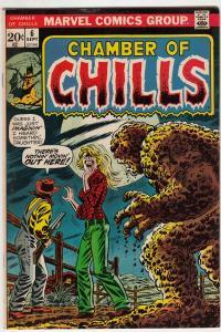 Chamber of Chills #6 (Sep-73) VF- High-Grade