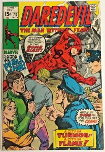DAREDEVIL#70 FN 1970 MARVEL BRONZE AGE COMICS