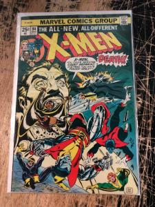 (Uncanny) X-Men # 94 VF Marvel Comic Book 1st New Team Storm Wolverine TW65