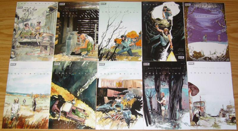 Grass Kings #1-15 VF/NM complete series by matt kindt - murder mystery set 2018