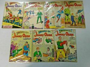 Silver Age Jimmy Olsen Comic Lot 12¢ Covers #60-89 13 Diff Avg 4.0 VG (1962-65)