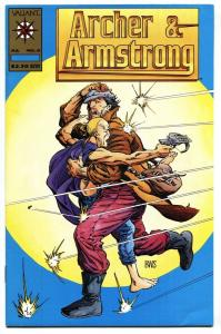 ARCHER AND ARMSTRONG #0-GOLD LOGO VARIANT-VALIANT 1992