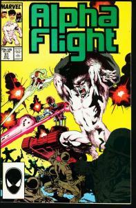 ALPHA FLIGHT #51-MARVEL COMICS-MUTANTS!-1st JIM LEE art nice NM