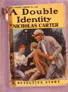 NEW MAGNET LIBRARY-#1302-DOUBLE IDENTITY-NICK CARTER FR
