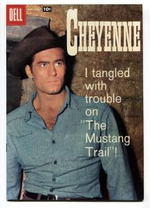 Cheyenne #7 1958- Dell Western- Clint Walker VF+
