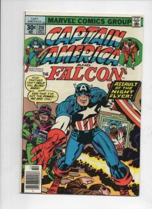 CAPTAIN AMERICA #214, VF, Jack Kirby, Falcon, 1968 1977, more CA in store