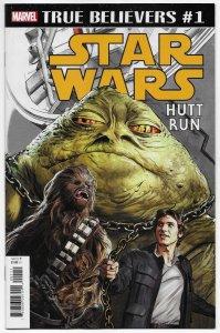True Believers Star Wars Hutt Run #1 Reprints Issue #35 (2015) Marvel (NM)
