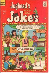 JUGHEADS JOKES (1967-1982)6 VG July 1968 COMICS BOOK