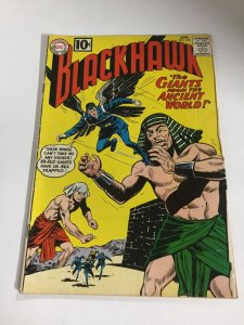 Blackhawk 163 Gd Good 2.0 Hole Punched DC Comics Silver Age