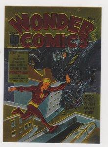 1996 Golden Age of Comics All Chromium Promo Card