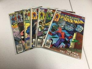 Amazing Spider-Man 181-185 188 189 Vg-Fn Very Good-Fine 4.0-6.0 Marvel Comics