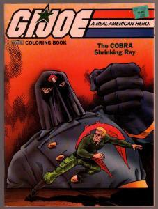 G.I. Joe Coloring Book 1987-COBRA Shrinking Ray-Winslow Mortimer-VF