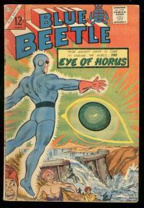 BLUE BEETLE #54 1966-CHARLTON-EYE OF HORUS-ROY THOMAS VG
