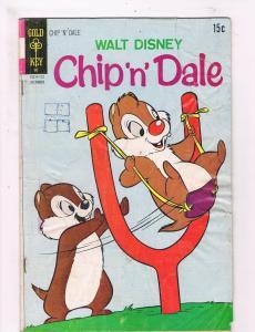 Walt Disney's Chip 'N' Dale # 13 VG Gold Key Comic Book Donald Duck Mickey! SW12