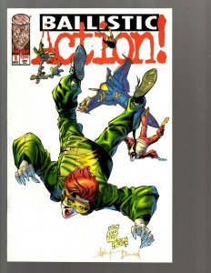 11 Comics Ballistic Action #1 2 3 4 4 Badrock 2A Badrock Wolverine 1 + more EK22