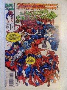 AMAZING SPIDER-MAN # 379 MAXIMUM CARNAGE VENOM